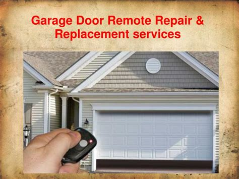 Remote Garage Door Repairs by Ppt Affordable Garage Door Repair Installation