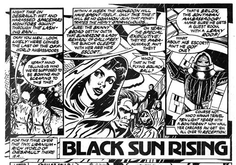 Black Sun Rising comic black sun rising