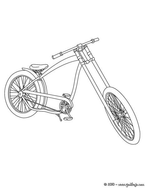 imagenes de bicicletas faciles para dibujar dibujos para colorear bicicleta trial es hellokids com
