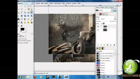 Gimp Tutorial Bilder Verschmelzen   gimp bilder verschmelzen gfx tutorial german