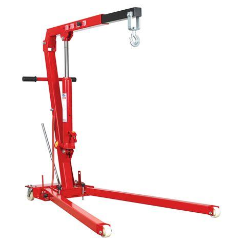 sealey yankee folding engine crane  tonne lifthoist garagediy ph ebay