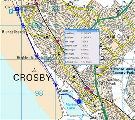 map of crosby texas topwalks trips evening walk routes 2007
