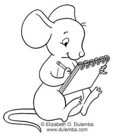 draw coloring book dulemba coloring page tuesday drawing mouse