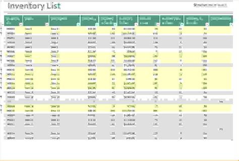 free excel templates for inventory management 6 excel inventory management template procedure