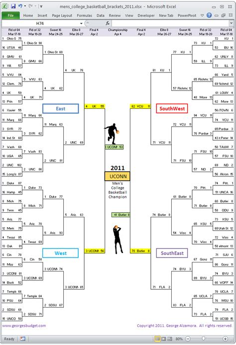 Blog Archives Utorrentgolf Excel Bracket Template