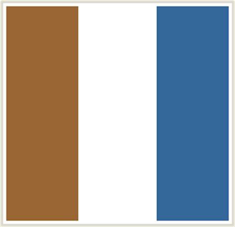 what color is ffffff colorcombo97 with hex colors 996633 ffffff 336699