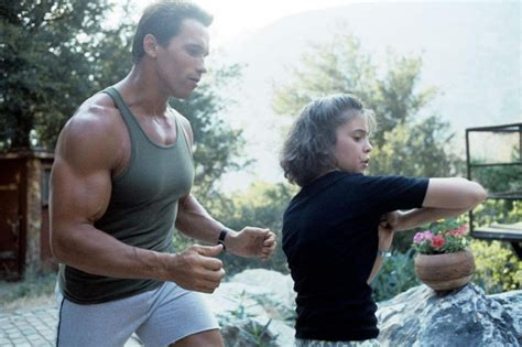 biography of film commando arnold schwarzenegger alyssa milano commando 1984