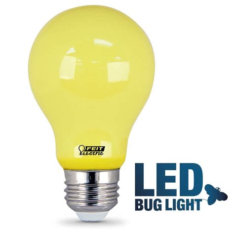 Bug Light Bulbs Led Non Dimmable A19 Led Bug Light Feit Electric
