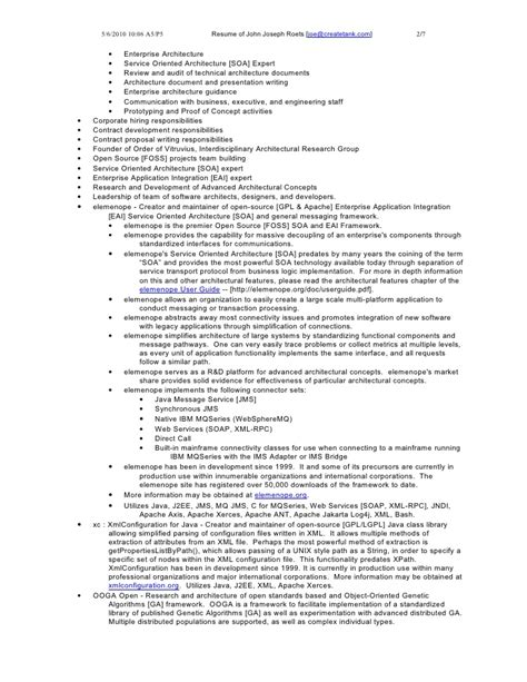 resume of joseph roets