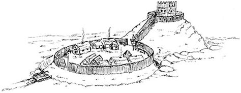 motte and bailey castle labeled diagram castle diagram memes