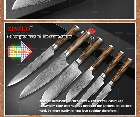 xinzuo 5 quot japanese chef knife 73 layers vg10 damascus steel xinzuo 5 quot japanese chef knife 73 layers vg10 damascus steel