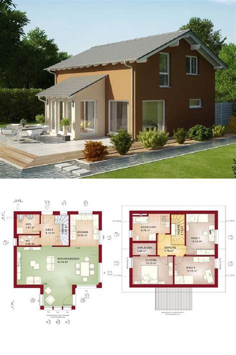 erker anbauen einfamilienhaus satteldach modern mit erker anbau