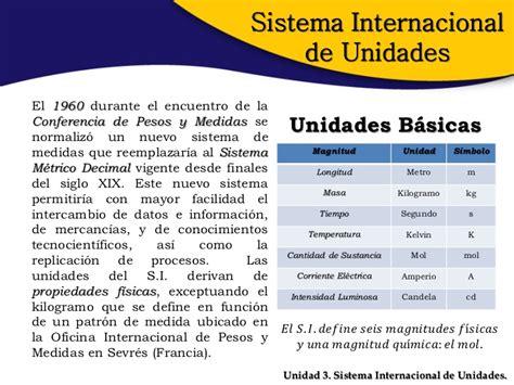 Sesion 3 Sistema Internacional De Unidades | sesi 243 n 3 sistema internacional de unidades