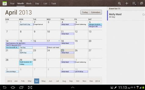 Where Is Calendar On Samsung Galaxy S6 How To Use S Planner For Schedules On Samsung Galaxy S7