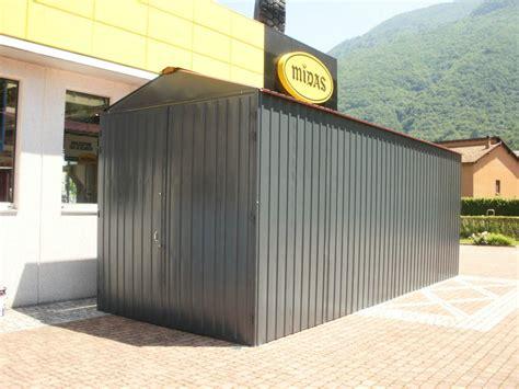 box auto lamiera prezzi box auto prefabbricato in lamiera zincata componibile a