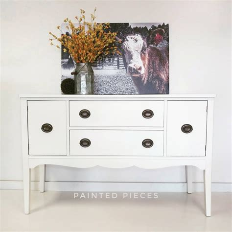 antique white entry table entry table in antique white paint general finishes