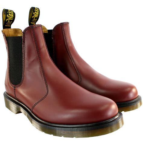 Sepatu Dr Martens Airwair womens dr martens airwair leather chelsea style low heel