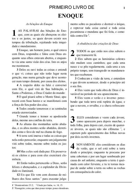 Livro de Enoque completo Primeiro e Segundo Livro em