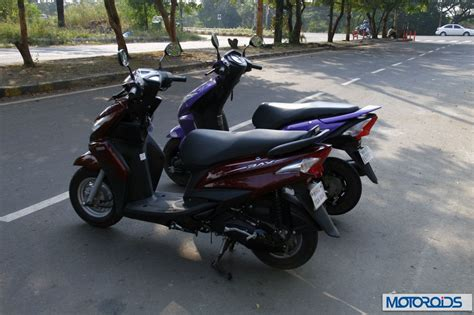 yamaha ray vs honda dio honda dio vs yamaha ray review shootout specs and