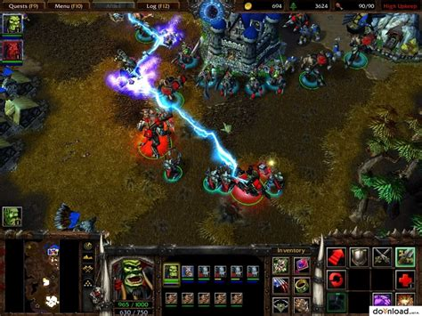 download mod game warcraft 3 warcraft iii reign of chaos patch 1 26a eng rts