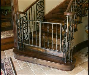 Top Of Stairs Baby Gate Banister Classy Safety Gates Sharon Mccormick Design