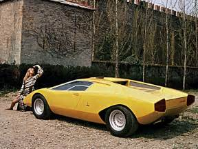 1971 Lamborghini Countach Lamborghini Countach Lp500 Prototype 1971 Concept Cars
