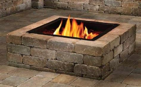 square fire pit covers pittopper