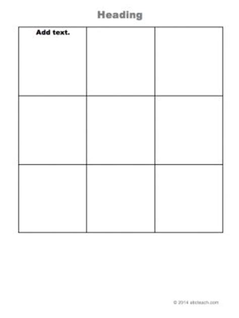 3x3 card template 3x3 grid type in templates grids and columns graphic