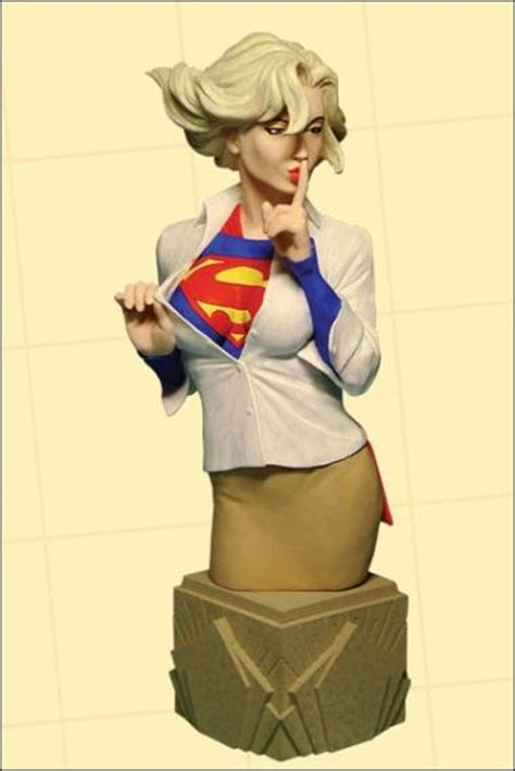 Vixen Of The Dc Universe Bust Dc Direct Of The Dc Universe Supergirl 1 5000 Jan 2006 Statue
