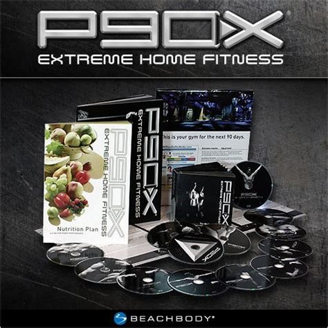 p90x 174 12 home fitness workout dvds set by tony horton