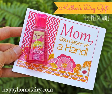 ideas for mothers day easy mother s day gift idea at happyhomefairy com so