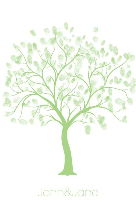 Weddings4less Ie Free Wedding Printables Free Tree Template