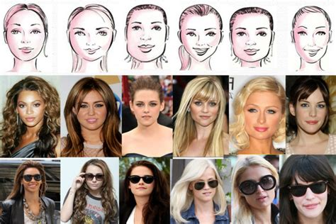 types of hair for types of faces what is my face shape fashion lifestyle selectspecs com