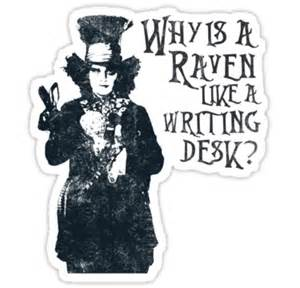 when is a like a writing desk magazine quot why is a like a writing