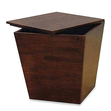 accent table storage tapered storage accent table storage cube bed bath beyond