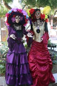 Catrina Costume Fiesta De Reyes Celebrates Dia De Los Muertos