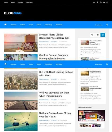blogger free blogmag blogger template free download