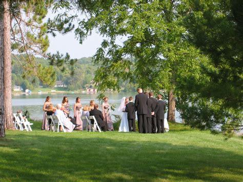 Backyard Wedding Michigan More Pictures Htm