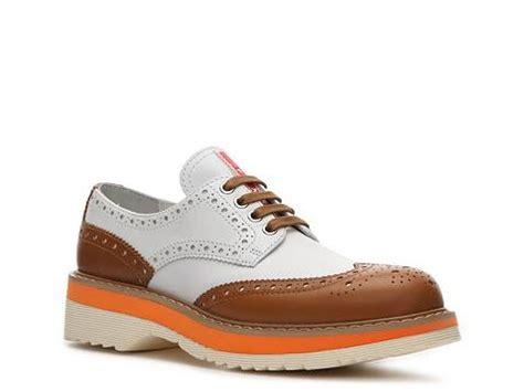 womens oxford shoes dsw prada leather wingtip oxford dsw