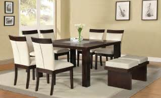 Contemporary Dining Room Sets by Contemporary Square Dining Room Sets Collections Info