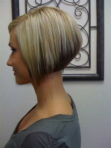 difference between stacked and layered hair inverted bob front and back short hairstyle 2013