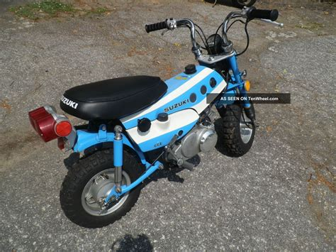 Suzuki Trailhopper by Suzuki Trailhopper Mt50 Mt 50 Vintage Minibike 1971 1972
