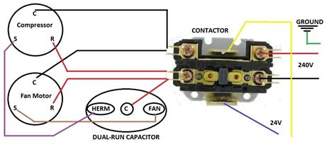 image gallery hvac contactor wiring