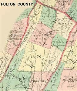 fulton county pennsylvania maps and gazetteers