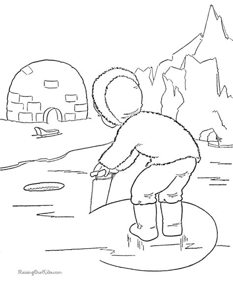 cute winter coloring pages cute winter picture to color