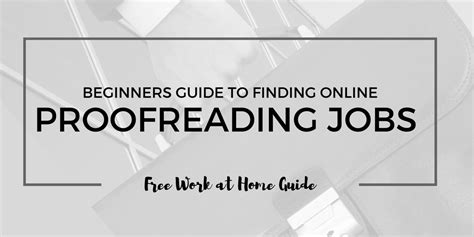 Trusted Online Jobs Work From Home - where to find work from home proofreading jobs 10