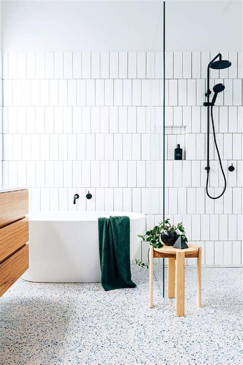 tile flooring ideas for bathroom 2018 15 edgy terrazzo decor ideas for bathrooms shelterness