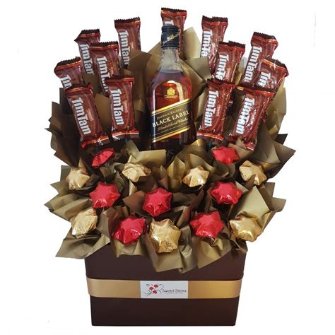 Johnnielker S Tch On D Chocs Cho Late Hamper Red