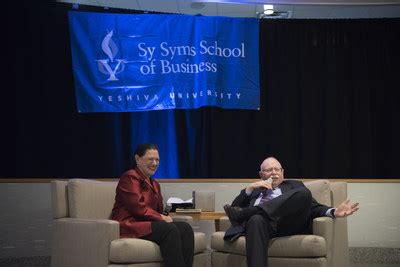 Sy Syms School Of Business Mba by Michael Steinhardt Receives 2017 Sy Syms Humanitarian Award