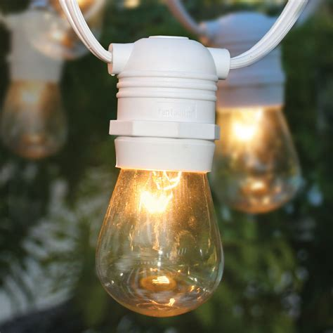 commercial grade heavy duty outdoor string lights 24 socket heavy duty commercial outdoor string light kit w